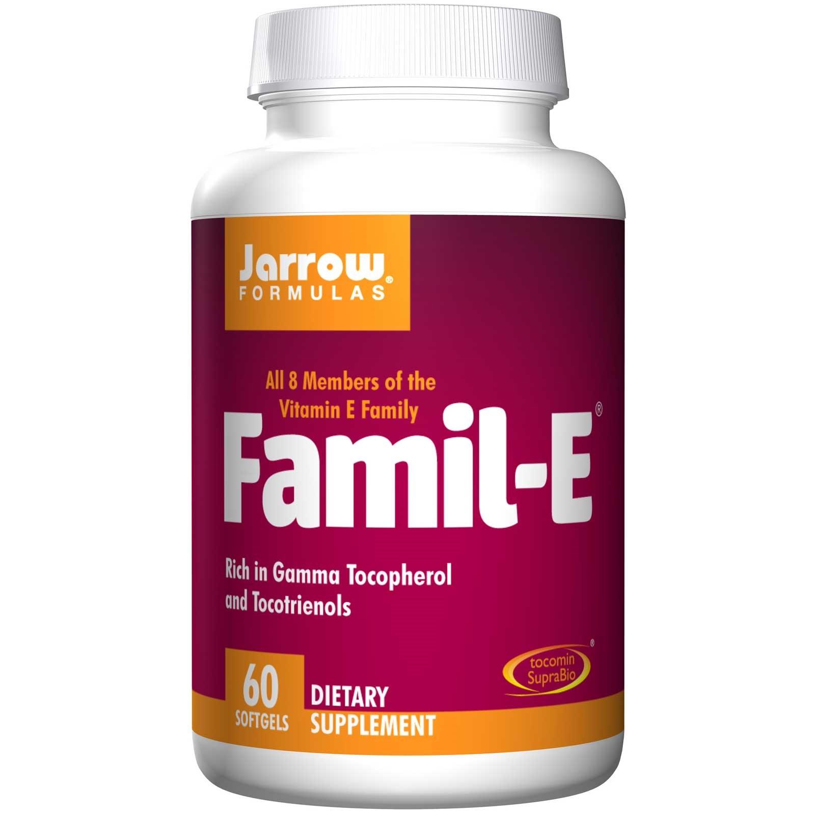 Image of Famil-E (60 gélules à)- Jarrow Formulas