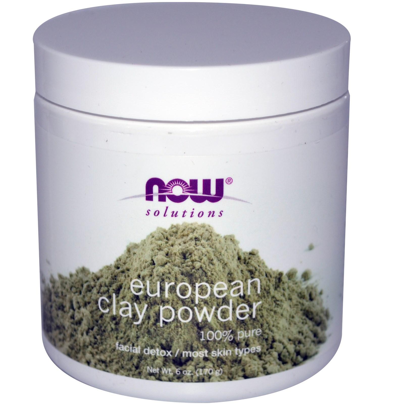 Image of European Clay Powder (170 gram) - Now Foods