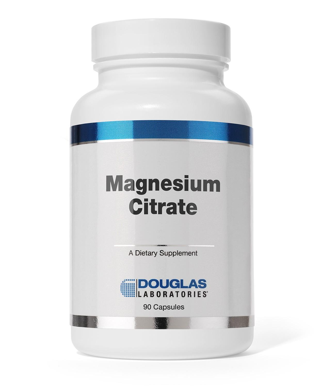 Image of Douglas Laboratories, Citrate de magnésium, 90 Capsules
