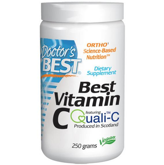 Image of Best Poudre de vitamine C (250 g) - Doctor's Best