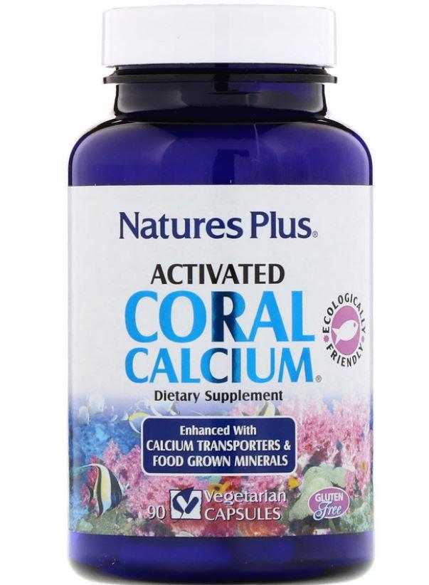 Image of Activated Coral Calcium (90 Vegetarian Capsules) - Nature's Plus