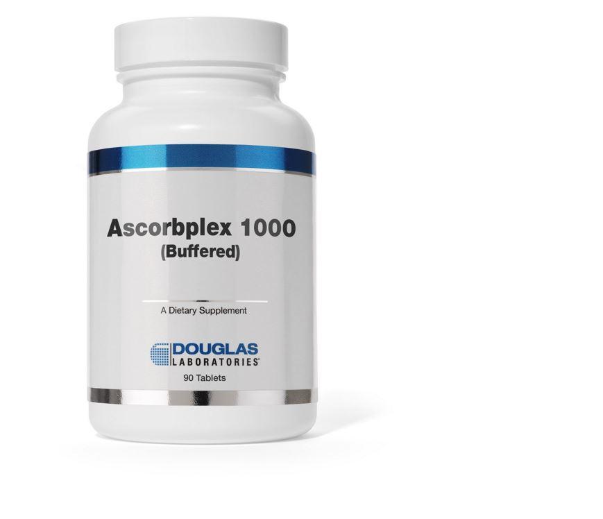 Image of Ascorbplex ® 1000 tamponnée) - (180 comprimés) - Douglas Laboratories
