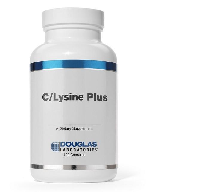 Image of C/Lysine Plus (120 comprimés) - Douglas Laboratories