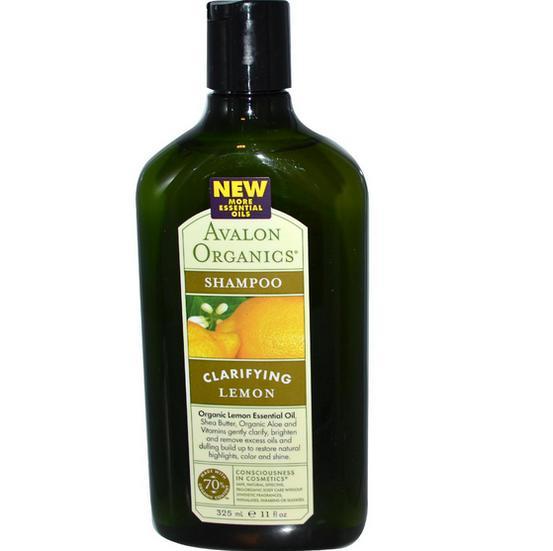Image of Avalon Organics, Shampooing citron (325 ml)