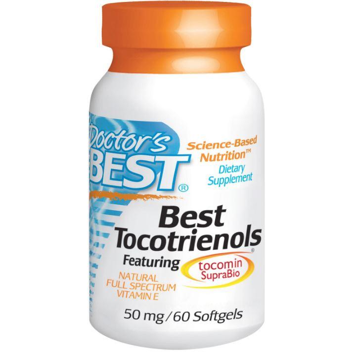 Image of Doctor's Best, Best tocotriénols, 50 mg, 60 gélules