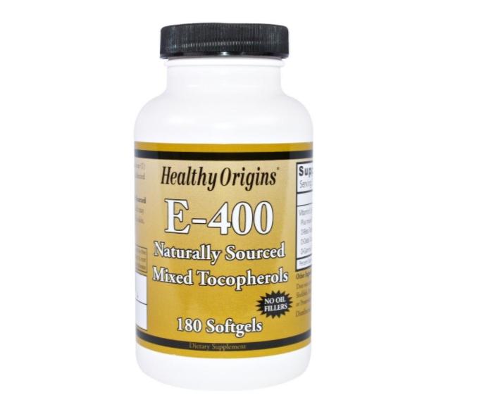 Image of Healthy Origins, E-400, 180 gélules