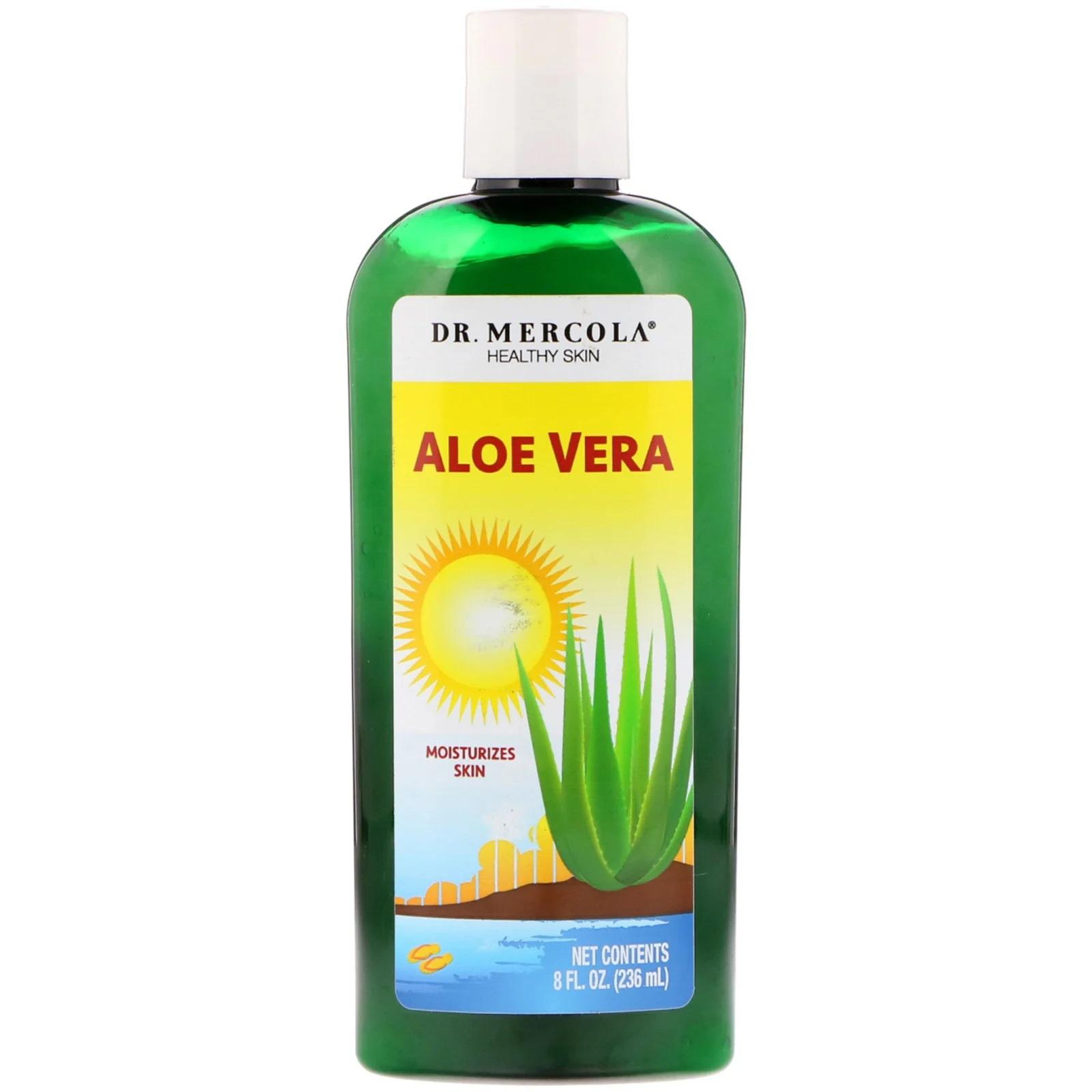 Image of Natural Aloe Vera (236 ml) - Dr. Mercola