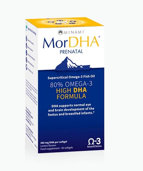 Image of MorDHA Prenatal (60 Capsules) - Minami