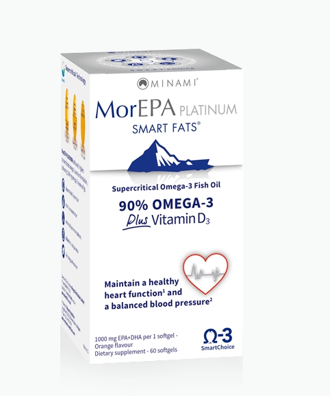 Image of MorEPA Platinum (60 Capsules) - Minami