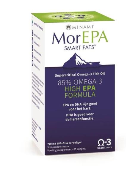 Image of MorEPA Smart Fats (60 Capsules) - Minami