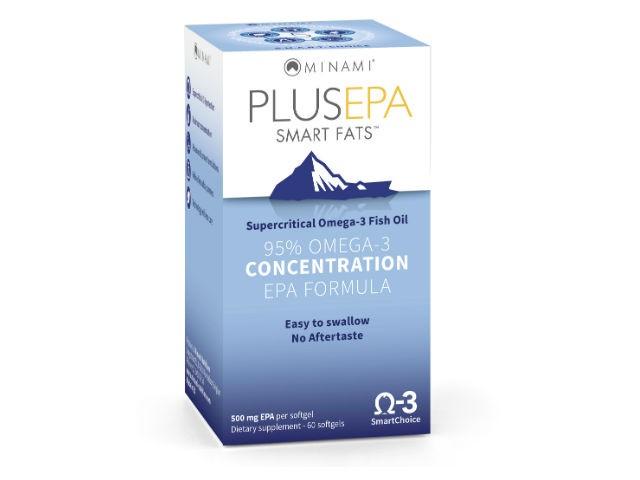 Image of PlusEPA Smart Fats (60 Capsules) - Minami